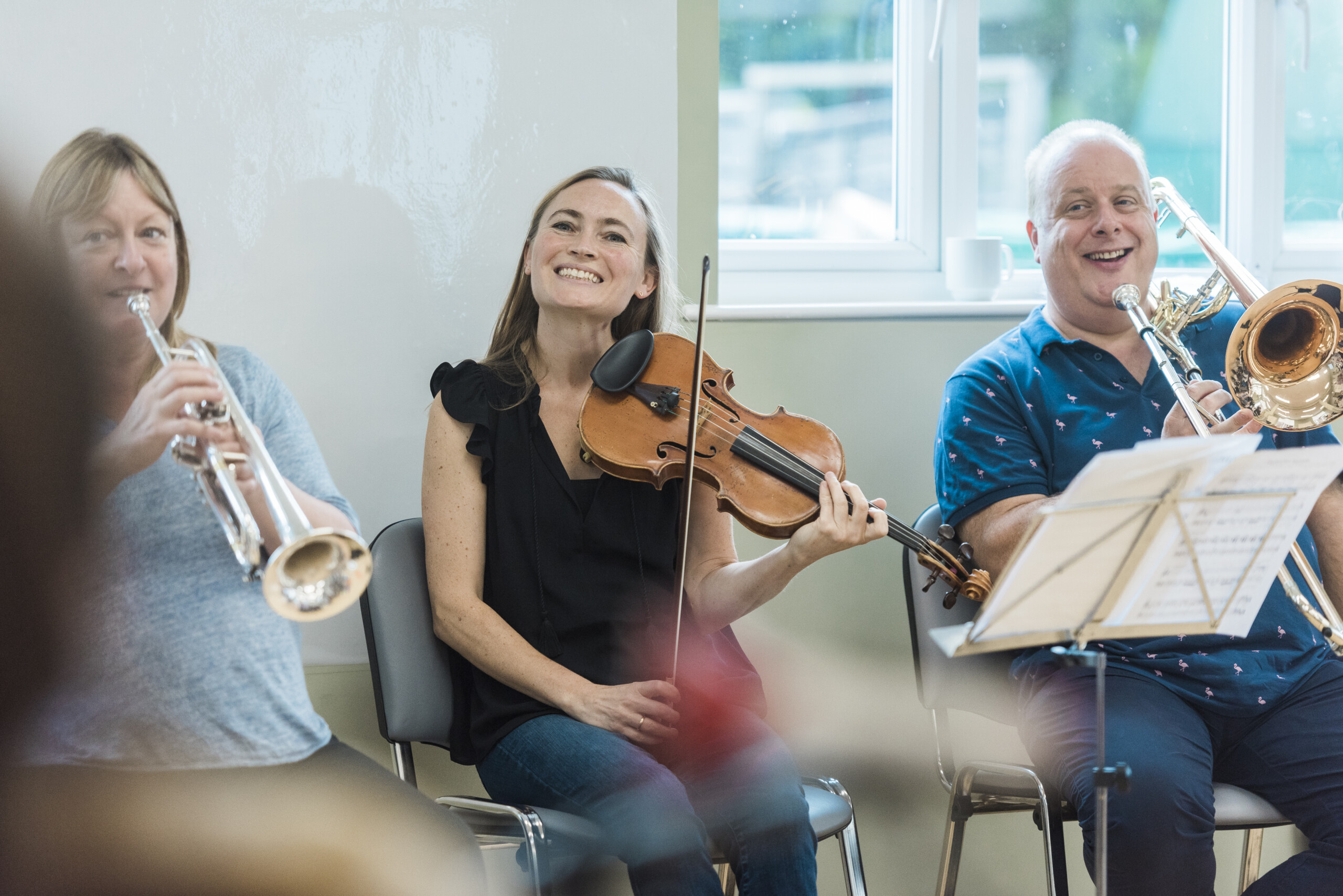 An LPO player smiling