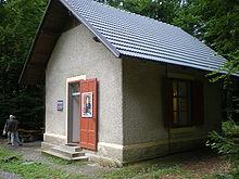 Maher's composition hut